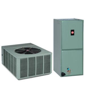 Rheem R-410A Complete Split System Heat Pump 3 Ton 16 5 SEER