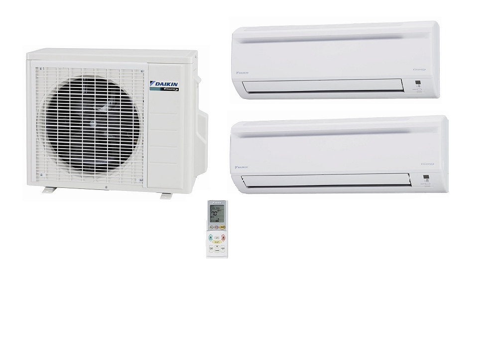 Daikin 2mxs18gvju 18000 Btu Outdoor Unit 2 Zone Heat And