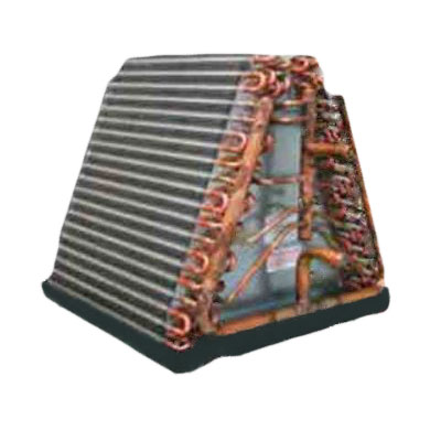 Heat Exchanger AC Series Hydronic A Coil For Chilled & Hot Water