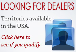 Looking for dealers. Territories available in the USA. Click here to see if you qualify.