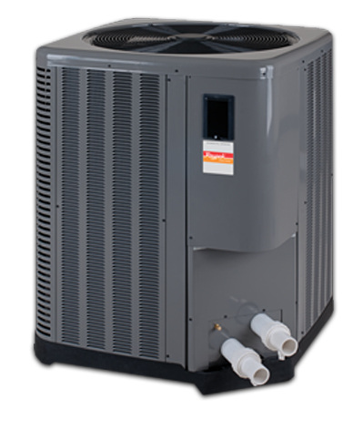 R8450ti – 130,000/140,000 BTU's, 5.3/5.6 COP, Single Phase